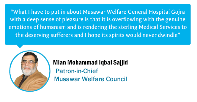 iqbal sajib testimonial musawar welfare council gojra